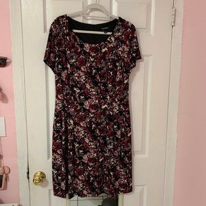 Violet Dress with Pockets